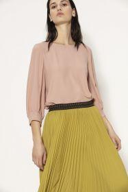 Roze bloes met 3/4 mouw Luisa Cerano