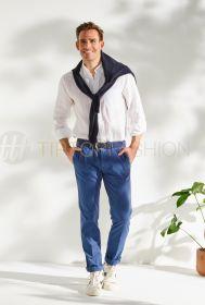 Blauwe broek Mason's