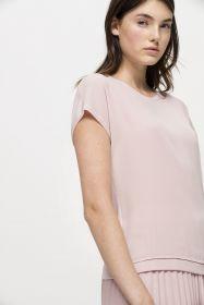 Roze top van twinset Luisa Cerano