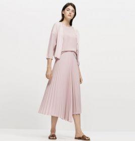 Roze gilet van twinset Luisa Cerano
