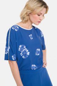 Blauwe bloes met witte bloemen Terre Bleue