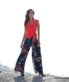 Roze cache-coeur bloes Linea Raffaelli