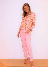 Roze bloes met oranje bollen Herzen'S angelegenheit
