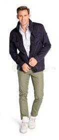 Kaki broek model Fabio Brax
