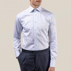 Lichtblauw hemd slim fit Eton