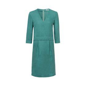 Groen V-hals kleed Riani