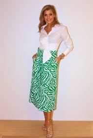 Groen witte rok Tara Jarmon