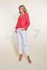 Fuchsia bloes met oranje hartjes Tara Jarmon