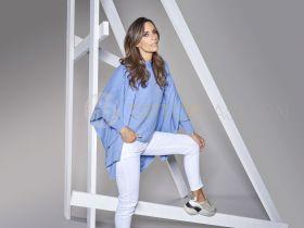 Witte broek met uitgerafelde onderkant model Jane Hem Raffaello Rossi