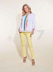 Gele broek model Vic Raffaello Rossi