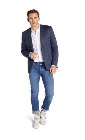 Blauwe blazer Roy Robson