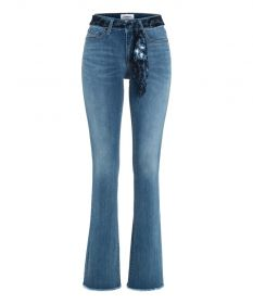 Blauwe bootcut jeans model Parla Cambio