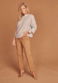 Camel broek model Renira Cambio