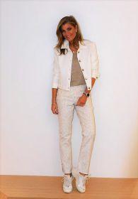 Witte jeansvest Seno