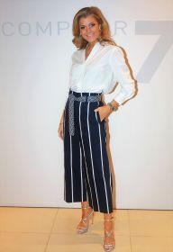 Witte V-hals bloes Seventy