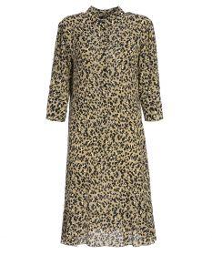 Beige hemdkleed met dierenprint Seventy
