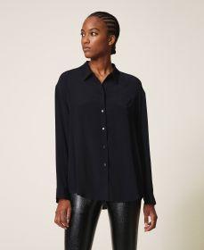 Zwarte bloes Twinset