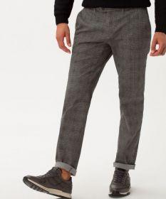 Grijze broek met ruit model Fey Brax