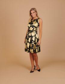 Zwart met gouden kleed Linea Raffaelli