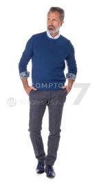 Wit hemd met paisley print op manchette en kraag R2 Amsterdam