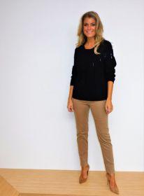Camel broek op elastiek model Jova Raffaello Rossi