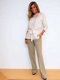 Camel broek model Dora B Raffaello Rossi