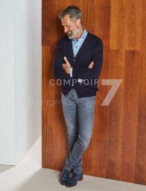 Grijze jeans Atelier Noterman