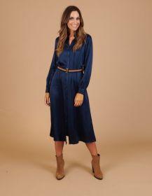 blauw hemdkleed Senso