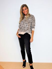 Grijze jeans model piper short Cambio