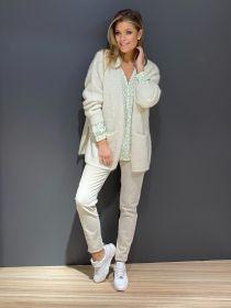 Beige broek model Jane Raffaello Rossi