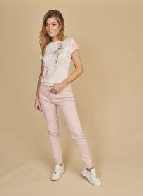 Roze broek model Jane Raffaello Rossi
