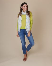 Groene pull Anneclaire