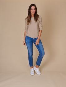 Beige pull Anneclaire