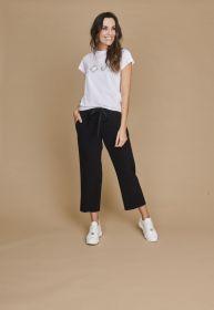 Zwarte broek model Colette Cambio