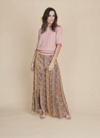 Multicolor rok met etnische print Caroline Biss