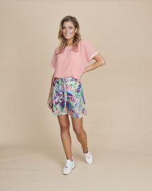 Roze T-shirt Terre Bleue