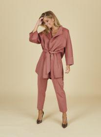 Roze mantel Riani