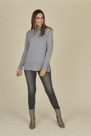 Grijze jeans Caroline Biss