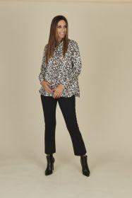 Zwarte broek model Macy Raffaello Rossi