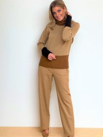 Camel broek model Kelis Raffaello Rossi