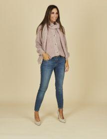 Blauwe jeans model Jane R Raffaello Rossi