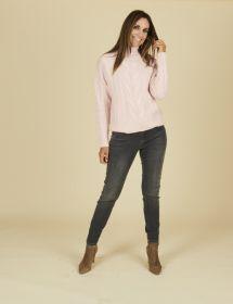 Grijze jeans model Jane R Raffaello Rossi