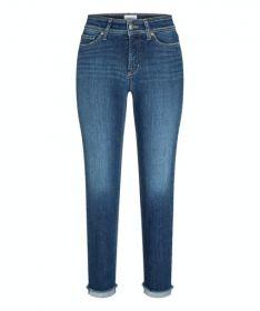 Blauwe jeans model Piper short Cambio