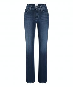 Blauwe bootcut jeans model Paris flared (=parla flared) Cambio