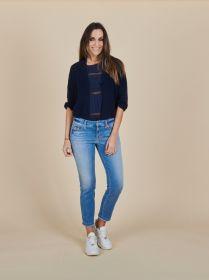 Blauwe jeans model Paris (= parla) Cambio