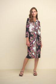 Lang hemdkleed met bloemenprint Joseph Ribkoff