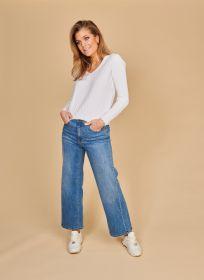 Blauwe culotte jeans Heart Mind