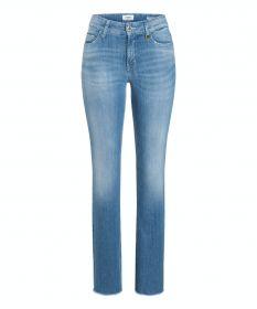 Blauwe jeans model Paris flared = Parla flared